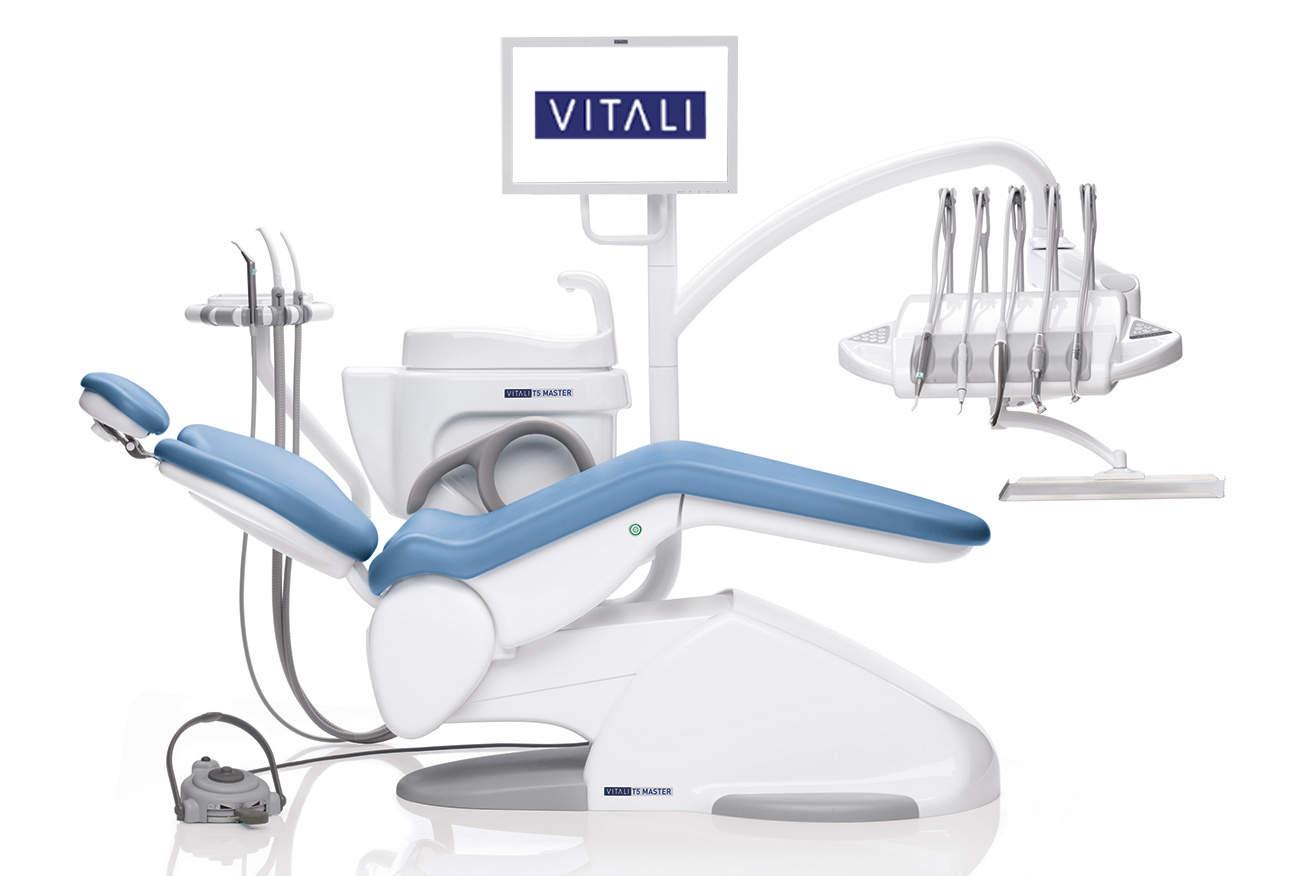 riunito odontoiatrico T5-master azzurro