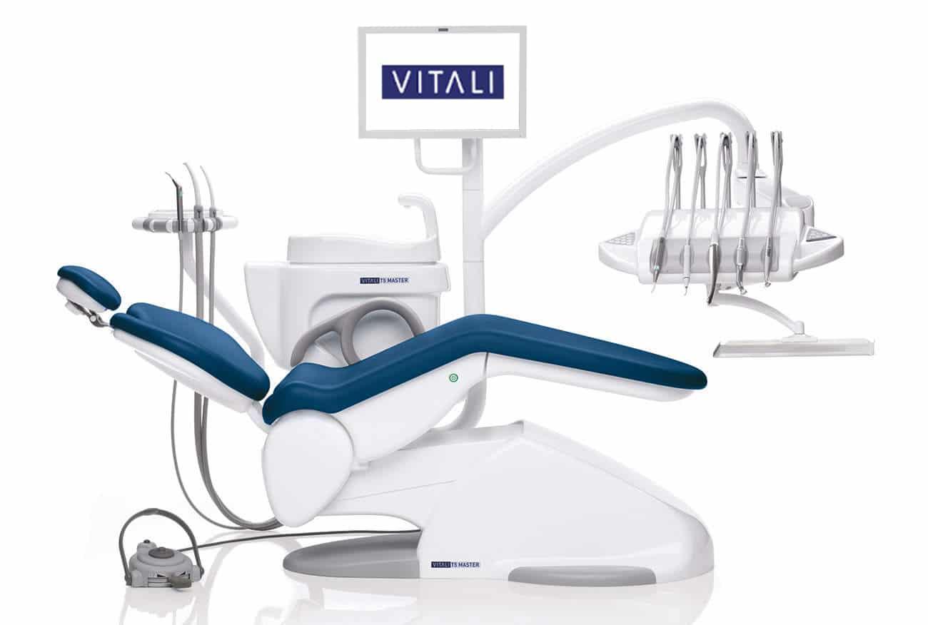 riunito odontoiatrico T5-master blu