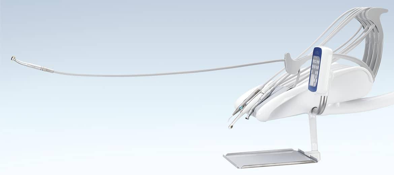 T5 EVO PLUS 4.0 - Estensione fino ad 80 cm dei tubi strumenti