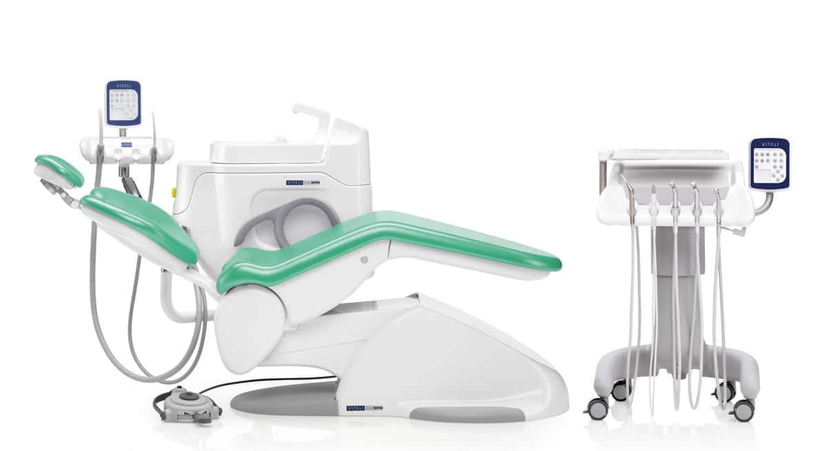 riunito odontoiatrico T5 EVO PLUS 4.0 - Configurazione a carrello