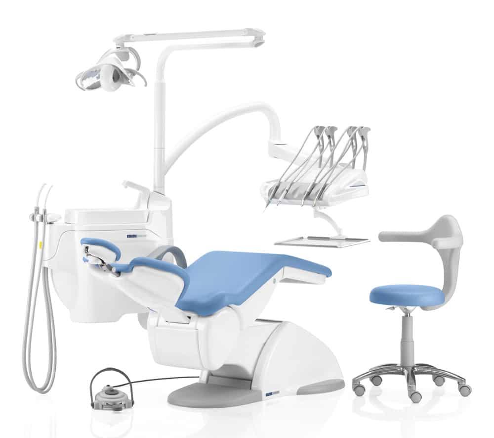 riunito odontoiatrico T5 MASTER 4.0