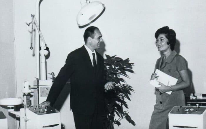 Lino Vitali fondatore dell'azieda