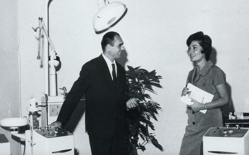 Lino Vitali the father of Vitali Dental Units